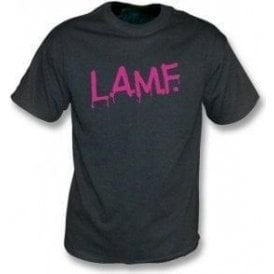 L.A.M.F (As Worn By Johnny Thunders, The Heartbreakers & Debbie Harry, Blondie) Vintage Wash T-Shirt