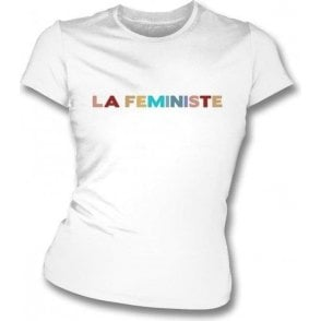 La Feministe Womens Slim Fit T-Shirt
