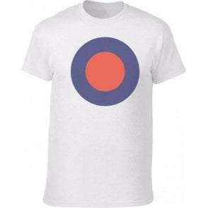 Large 60's Mod Target (As Worn By Keith Moon, The Who) Vintage Wash T-Shirt