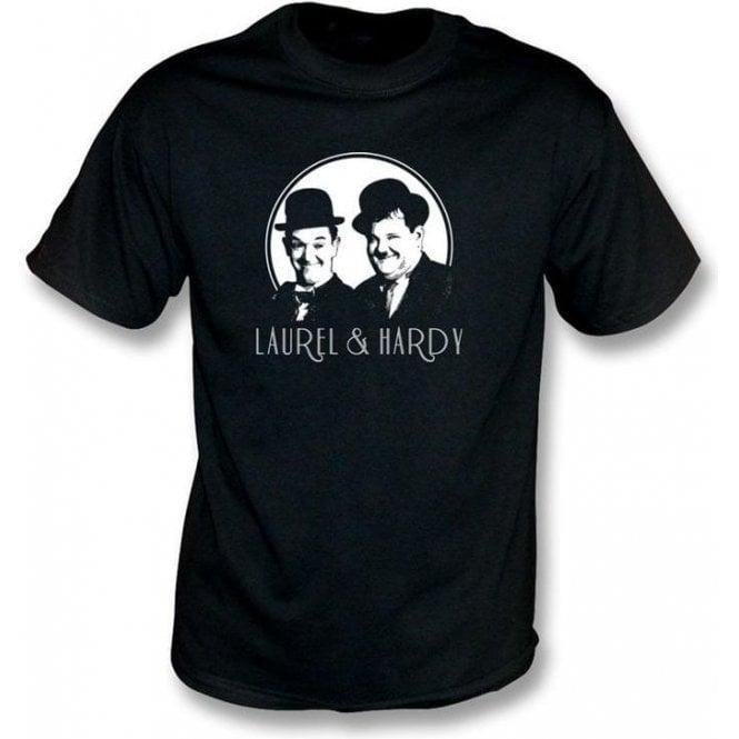 Laurel & Hardy Comedy Superstars T-Shirt