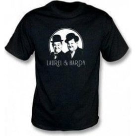 Laurel & Hardy Comedy Superstars T-Shirt