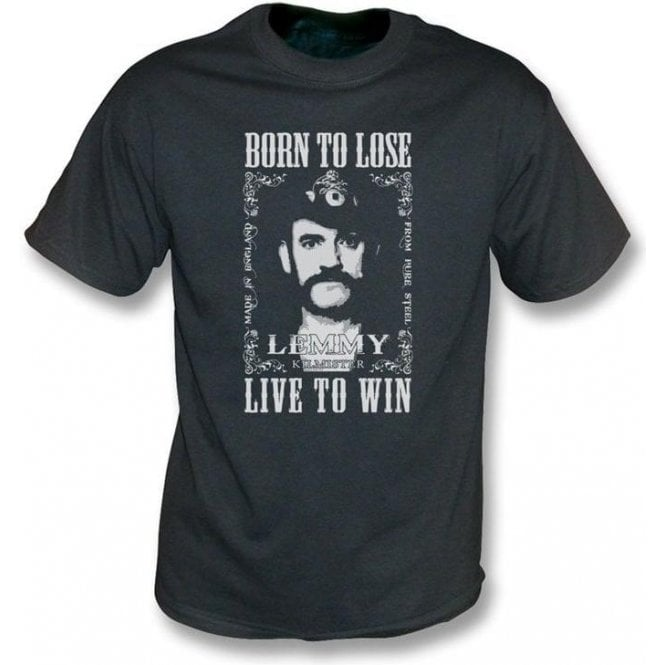 Lemmy (Motorhead) Born To Lose Vintage Wash T-shirt