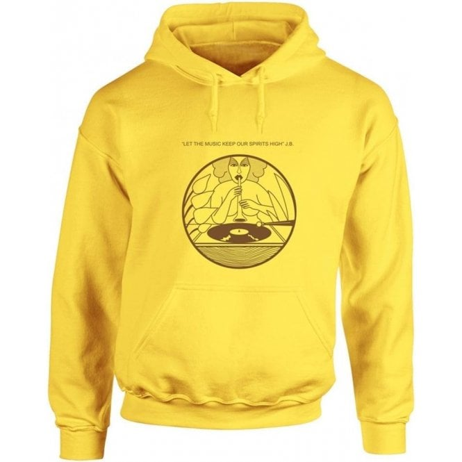 Let The Music Keep Our Spirits High (As Worn By Dee Dee Ramone, Ramones) Hooded Sweatshirt