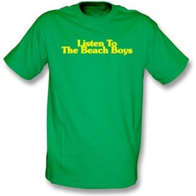 Listen to the Beach Boys Kids T-Shirt