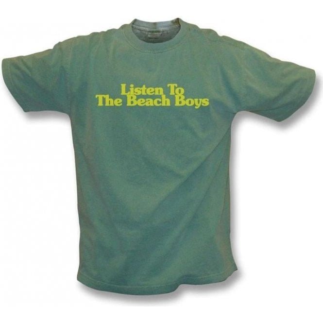 Listen to the Beach Boys Vintage Wash T-Shirt