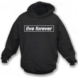 Live Forever (Inspired By Oasis) Kids Hooded Sweatshirt