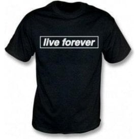 Live Forever (Inspired By Oasis) Kids T-Shirt