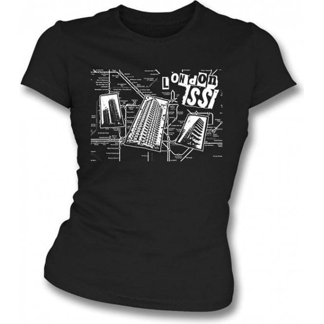 London SS Original Punk Girl's Slim-Fit T-shirt