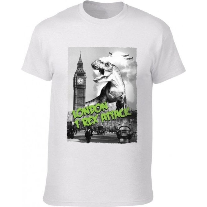 London T-Rex Attack Kids T-Shirt