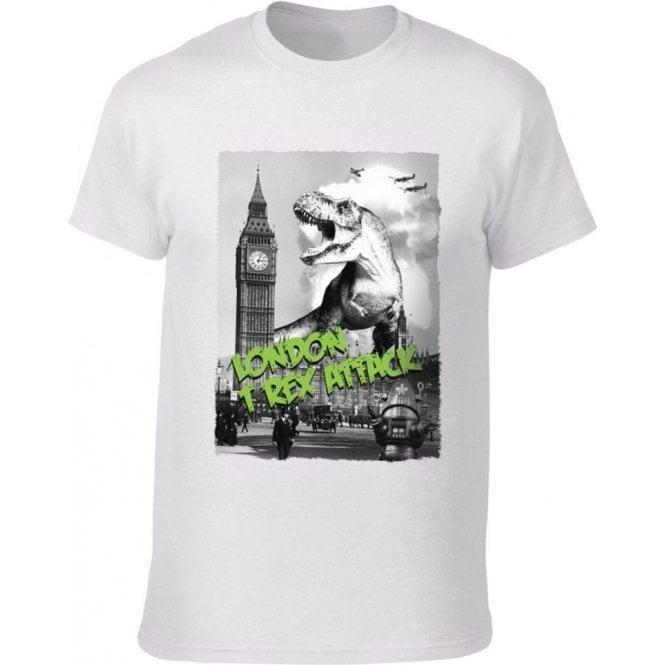 London T-Rex Attack T-Shirt