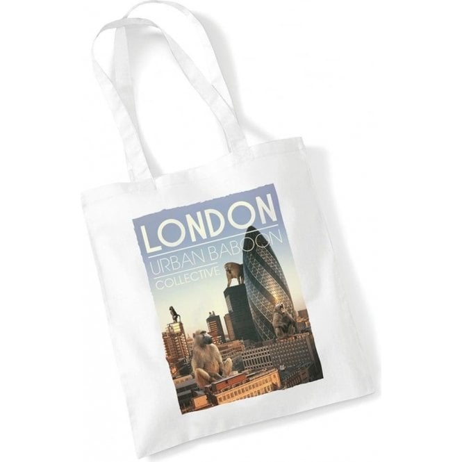London Urban Baboon Collective Long Handled Tote Bag