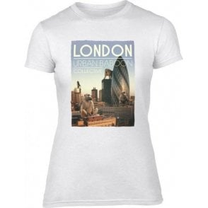London Urban Baboon Collective Womens Slim Fit T-Shirt