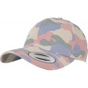 Low Profile Cotton Camo Cap