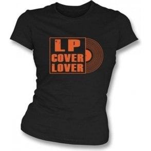 LP Cover Lover Girl's Slim-Fit T-Shirt