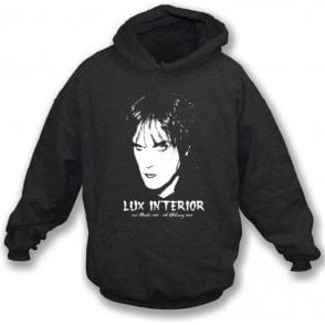 Lux Interior Tribute (The Cramps) Hooded Sweatshirt