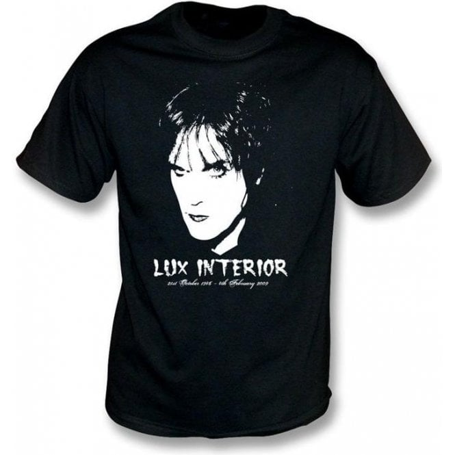 Lux Interior Tribute (The Cramps) T-shirt