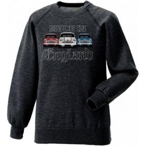 Made In England (Mini Cooper) Kids Sweatshirt
