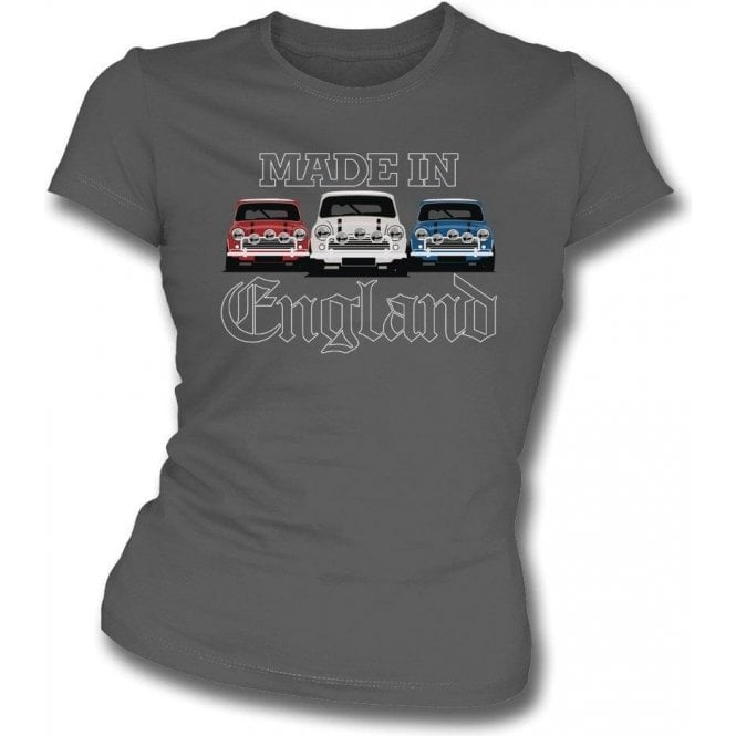 Made In England (Mini Cooper) Womens Slim Fit T-Shirt