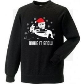 Make It Snow (Inspired by Star Trek) Christmas Jumper