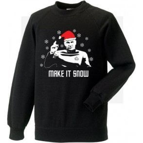 Make It Snow (Inspired By Star Trek) Kids Sweatshirt