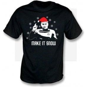 Make It Snow (Inspired by Star Trek) Kids T-Shirt