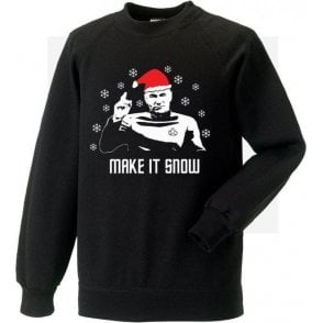 Make It Snow (Inspired by Star Trek) Sweatshirt