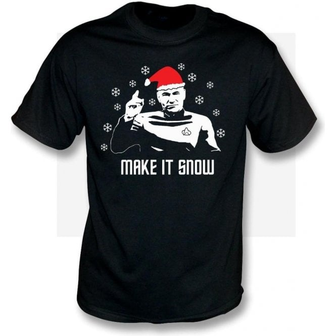 Make It Snow (Inspired by Star Trek) T-Shirt
