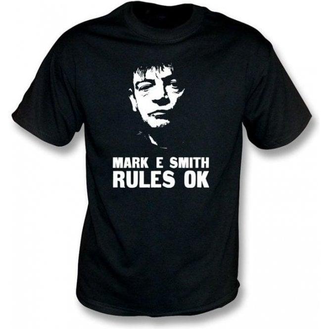 Mark E Smith Rules Ok (The Fall) T-Shirt