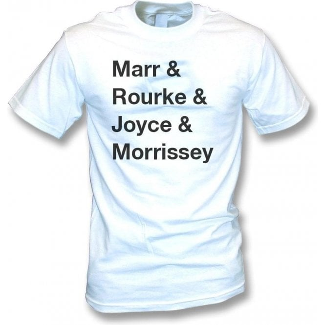 Marr, Rourke, Joyce & Morrissey (The Smiths) T-Shirt