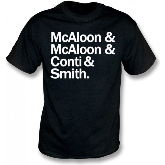 McAloon & McAloon & Conti & Smith (Prefab Sprout) T-Shirt