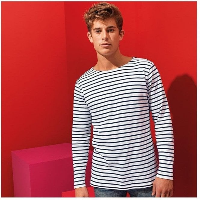 Men's Mariniere Coastal Long Sleeve T-Shirt