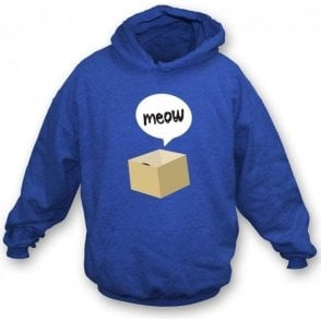 Meow Cat In A Box Hooded Sweatshirt