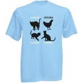 Meow Chicka Meow Meow Kids T-Shirt