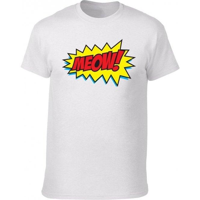 Meow Comic Bubble T-Shirt