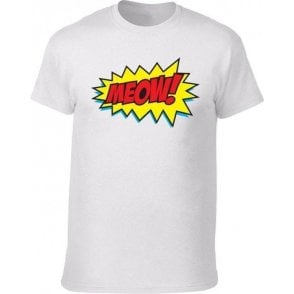 Meow Comic Bubble T-Shirt