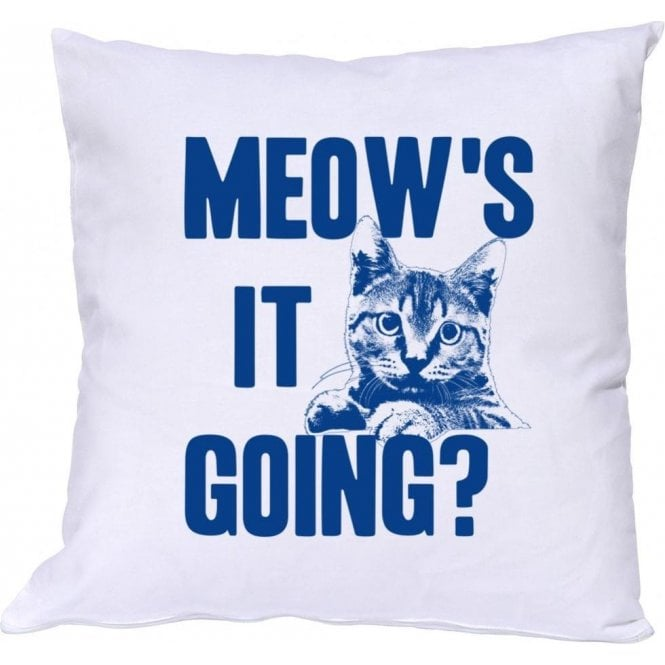 Meow's It Going? Cushion
