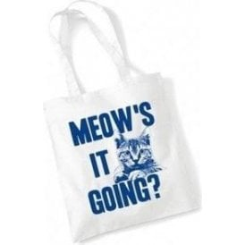 Meow's It Going? Long Handled Tote Bag