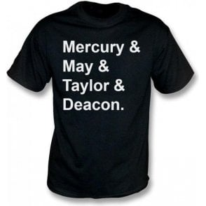 Mercury & May & Taylor & Deacon (Queen) T-Shirt