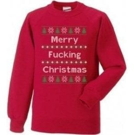 Merry F*cking Christmas Sweatshirt