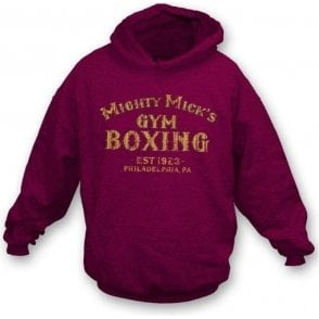 Mighty Mick's Gym (Inspired by Rocky) Hoodie