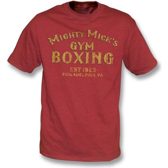 Mighty Mick's Gym (Inspired by Rocky) Organic T-shirt