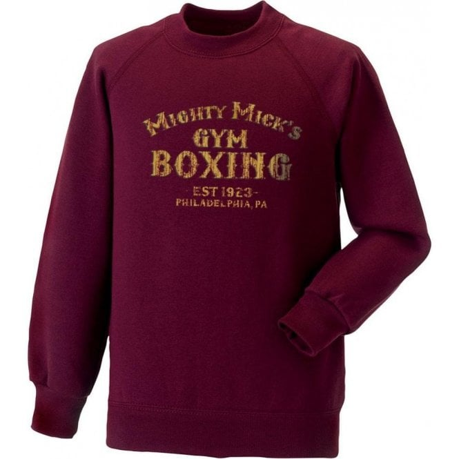 Mighty Mick's Gym (Inspired By Rocky) Sweatshirt