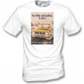 "Mini Advert ""For Little Old Ladies, It Ain't"" Vintage Wash T-Shirt"