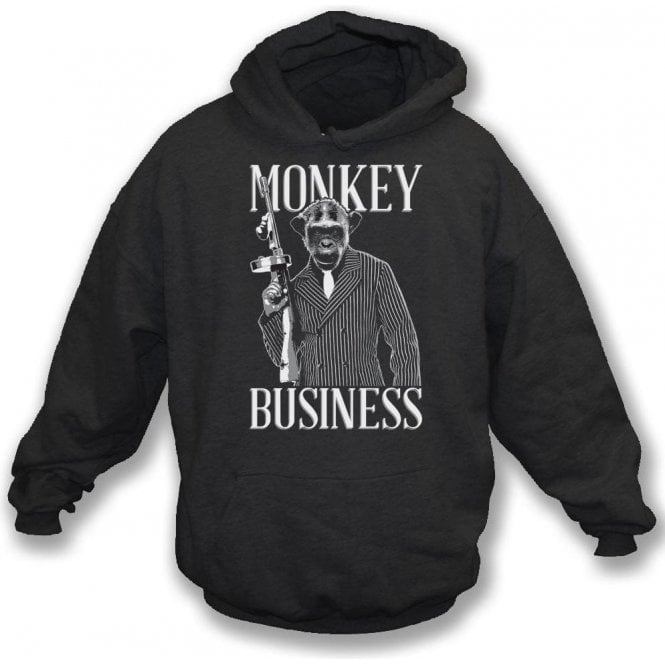 Monkey Business Hooded Sweatshirt