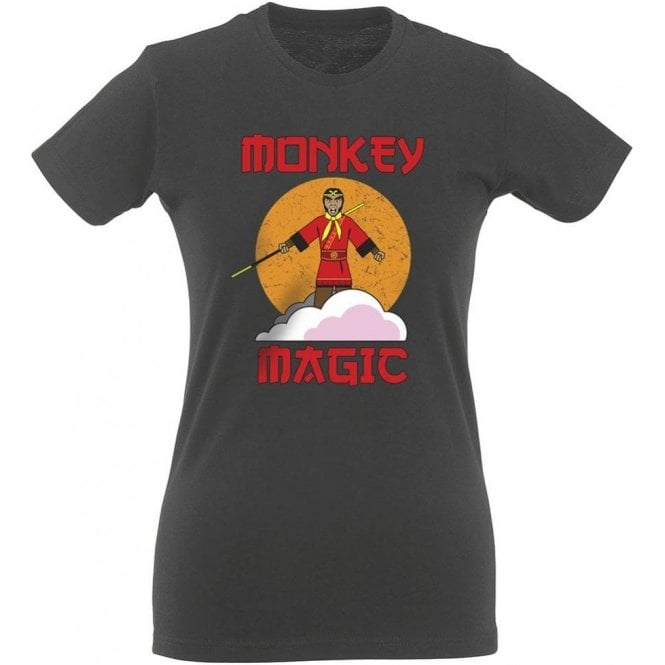 Monkey Magic Womens Slim Fit T-Shirt