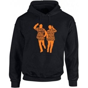 "Morecambe & Wise ""Bring Me Sunshine"" Hooded Sweatshirt"