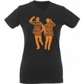 "Morecambe & Wise ""Bring Me Sunshine"" Womens Slim Fit T-Shirt"