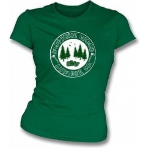 Morning Wood Lumber Co girls slimfit t-shirt