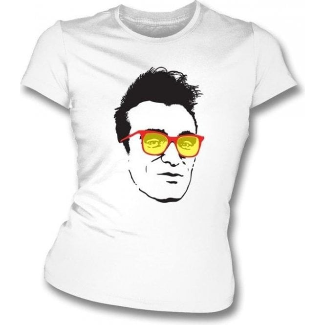 Morrissey Cartoon (The Smiths) Picture Womens Slim Fit T-Shirt