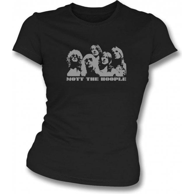 Mott the Hoople Girl's Slim-Fit T-shirt